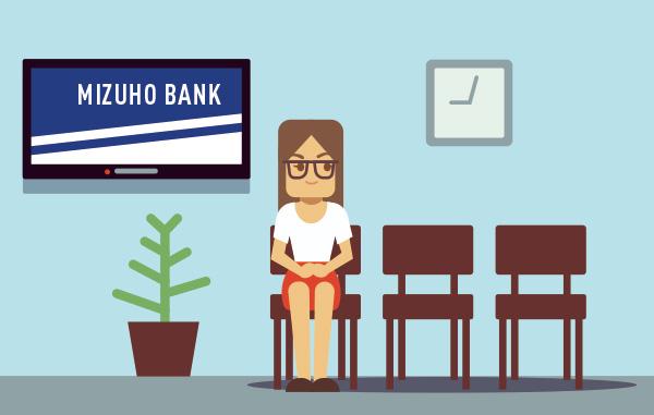 バーチャルオフィス法人会員様のみずほ銀行の口座開設までの流れ
